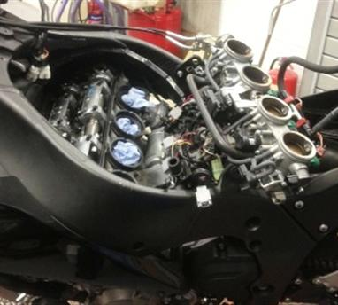 motorcycle service engine